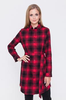 Платье-рубашка с молниями по бокам Marimay
