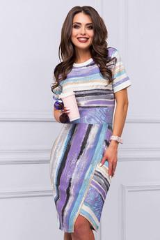 Новинка: повседневное платье с коротким рукавом CHARUTTI